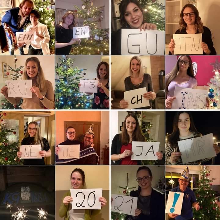 Die KG 1884 Enkirch wünscht euch allen ein frohes neues Jahr!